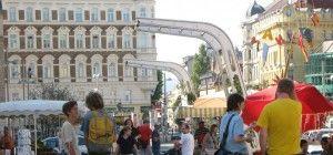 Es ist FASANmarkt in Wien-Landstraße