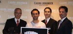 Michael Huber gewinnt CAPT Main Event im Casino Innsbruck