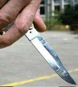 Beschimpft und mit Messer bedroht