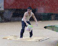 20.000 Hühner durch Monsun verendet