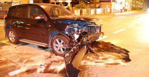 Hochschwangere (37) auf dem Weg ins Spital bei Unfall verletzt