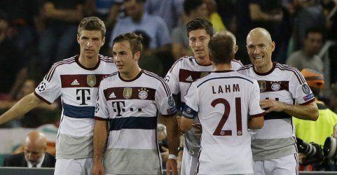 Bayern München deklassiert AS Roma - Auch Barcelona und Chelsea feiern Siege