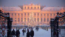 Weihnachtsmarkt Schloss Schönbrunn 2017