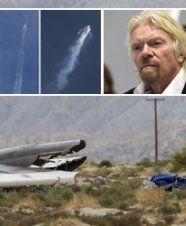 Touristen-Raumschiff bei Testflug abgestürzt