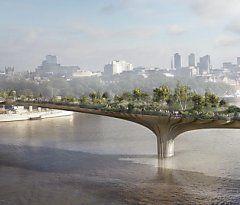 London baut Garten-Brücke