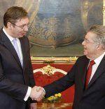 Aleksander Vucic zu Besuch in Wien