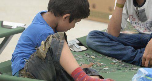 Angeblich sind 1.800 unbegleitete Minderjährige in Traiskirchen