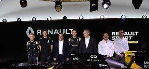 Magnussen und Palmer fahren für Renault in der Formel 1