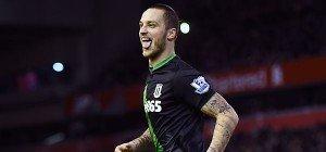 Stoke-Trainer Hughes hofft auf Verbleib von Arnautovic