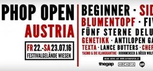 HipHop Open Austria 2016 versammelt hochkarätige Acts in Wiesen