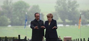 Merkel und Hollande gedachten der Schlacht von Verdun