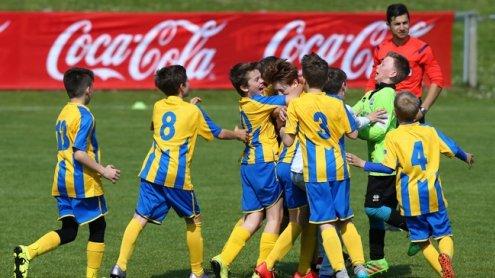 Coca-Cola-Cup: Die Vienna-U12 gewinnt das Wiener Landesfinale