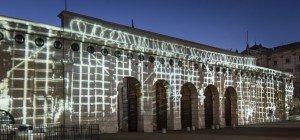 Raster und Stacheldraht: Hofburg-Tore werden 40 Nächte lang künstlerisch beleuchtet