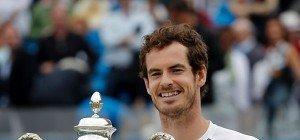 Murray gewann zum fünften Mal Titel in Queen's