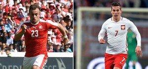 Weiß-Rotes Duell: Schweiz und Polen um historische Chance