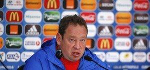 Russlands Nationaltrainer Leonid Sluzki bestätigte Abschied