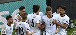 Deutschland souverän im EM-Viertelfinale