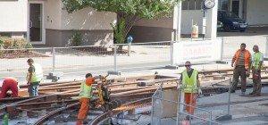 Baustellensommer bei den Wiener Linien: Zahlreiche Straßenbahn-Gleisarbeiten