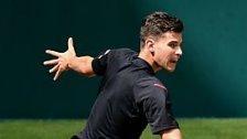 """Wimbledon: Thiem freut sich auf """"mein Bett"""""""