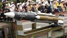 Taiwanesische Rakete tötete Kapitän auf Boot