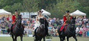 Großes Pferdefest auf Schloss Hof am 11. September 2016