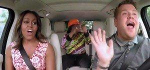 """Michelle Obama geht beim """"Carpool Karaoke"""" richtig ab"""