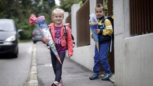 Sicherheitstipps: Diese Gefahren lauern auf dem Weg in die Schule