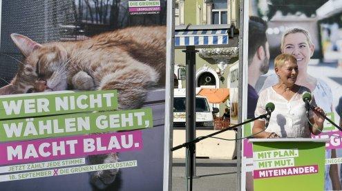 """""""Es wird eng"""": Wahlauftakt der Grünen in Wien-Leopoldstadt"""