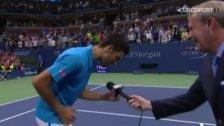 Tennis-Ass Djokovic macht den Phil Collins