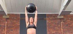 Unglaublich: Tägliches Workout in der 38. Schwangerschaftswoche!