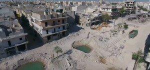Dramatische Drohnenaufnahmen aus Aleppo
