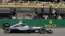 Hamilton fixiert in Austin 50. Grand-Prix-Sieg