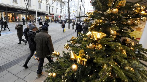 Einkaufen am 8. Dezember in Wien: Öffnungszeiten der Shops