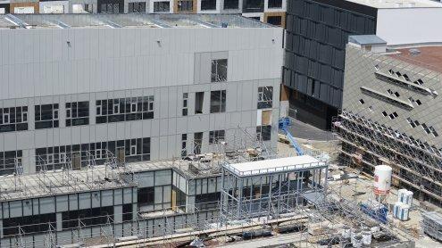 Krankenhaus Wien Nord: Kleine Panne bei Garagenzufahrt-Bau