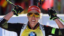 Dahlmeier holte fünftes Biathlon-WM-Gold