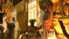 Samba, Tanz, Kostüme: Rio glänzt zum Karneval