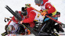 Österreichs Kombinierer- Team holte WM-Bronze