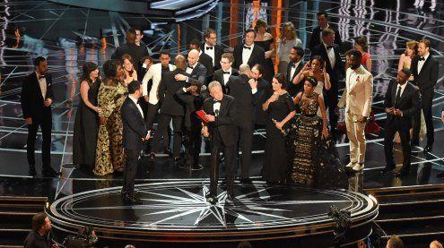 Riesenpanne bei den Oscars 2017