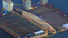 Sewol: Hier wird ein Massengrab geborgen