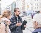 """Bei der Shades Tour Vienna: Wenn Obdachlose durch """"ihr"""" Wien führen"""