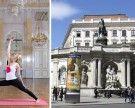 Yoga meets Art: Wiener Albertina lädt zu gemeinsamen Asanas im Musensaal