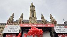 1. Mai: SPÖ lädt wieder zum Wiener Rathausplatz