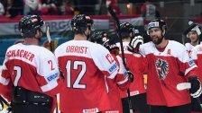 ÖEHV-Team nach 3:1 gegen Ungarn auf Kurs