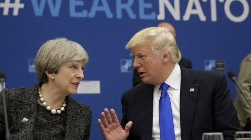 May beschwert sich bei Trump: Kooperation mit USA liegt auf Eis