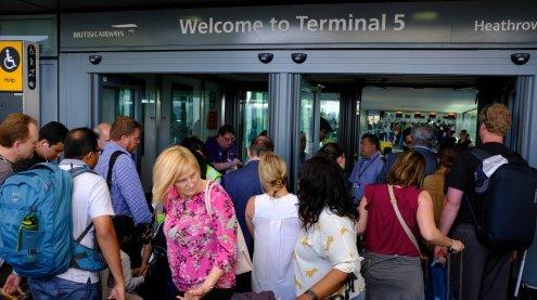 Flugbetrieb der British Airways gestört - auch Wien ist betroffen