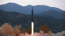 Nordkorea feuerte erneut Rakete ab