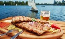 Strandcafé an der Alten Donau öffnet nach Umbau