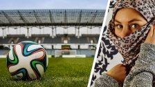 Verkleidete Iranerin im Fußballstadion verhaftet