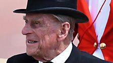 Es geht ihm gut: Prinz Philip ist wieder zuhause