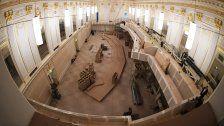 Parlamentsumbau: Alte Sitze werden versteigert